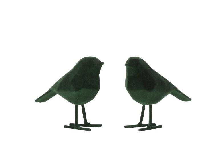 Dekofigur Vogel Timo Grün